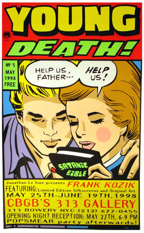Frank Kozik - 1998 - Young Death Poster