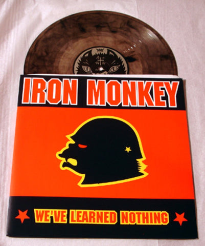 "Iron Monkey ""We've Learned Nothing"" 1999 Colored Vinyl Art By Kozik"