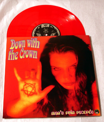 "Acid King ""Down With the Crown"" 1997 Colored Vinyl Art By Kozik"