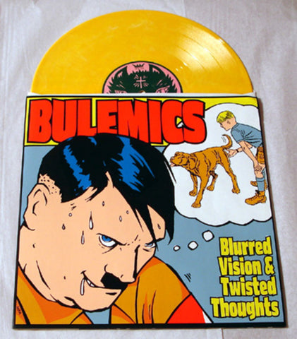 "Bulemics ""Blurred Vision & Twisted Thoughts"" 1999 Colored Vinyl Art By Kozik"