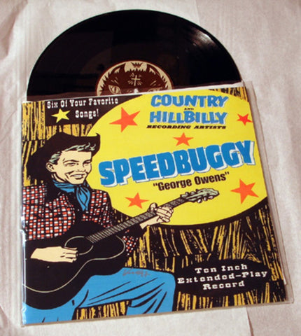 "Speedbuggy ""George Owens"" 1997 Colored Vinyl Art By Kozik"