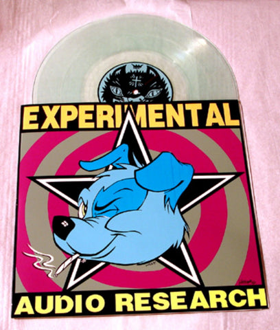 "Experimental Audio Research ""Delta 6"" 1996 Purple/Grey Colored Vinyl Art By Kozik"