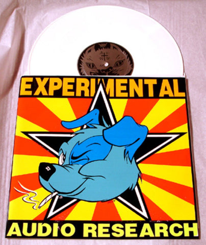 "Experimental Audio Research ""Delta 6"" Orange/Yellow Colored Vinyl Art By Kozik"
