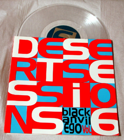 "Desert Sessions Vol 6 ""Black Anvil Ego"" 1999 Colored Vinyl Art By Kozik"