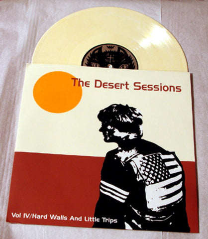 "Desert Sessions Vol 4 ""Hard Walls And Little Trips"" 1998 Colored Vinyl By Kozik"
