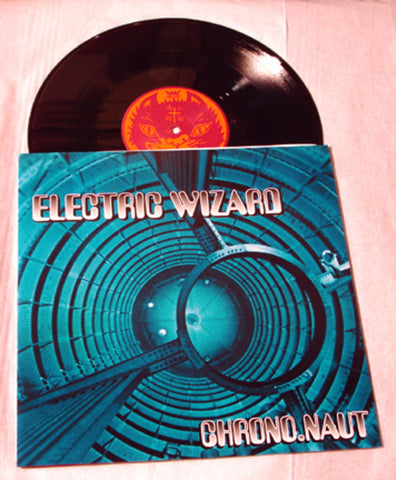 "Electric Wizard ""Chrono.Naut"" 1997 Colored Vinyl Art By Kozik"