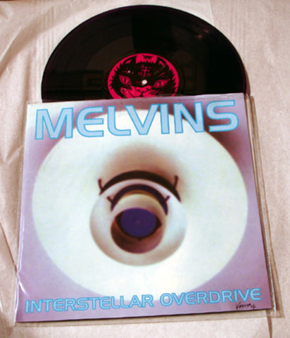"Melvins ""Interstellar Overdrive"" 1996 Colored Vinyl Art By Kozik"