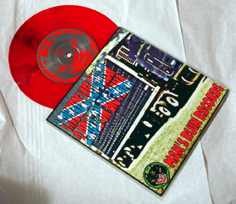 "Cowslingers ""Trucker's Last Dollar"" 1996 Colored Vinyl Art By Kozik"