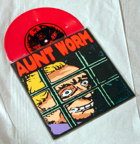 "Aunt Worm ""Saucy Young Lady"" 1996 Colored Vinyl Art By Kozik"