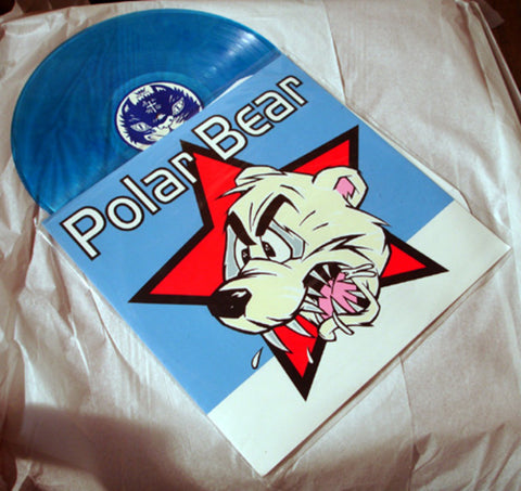 "Polar Bear ""Polar Bear"" 1996 Colored Vinyl Art By Kozik"
