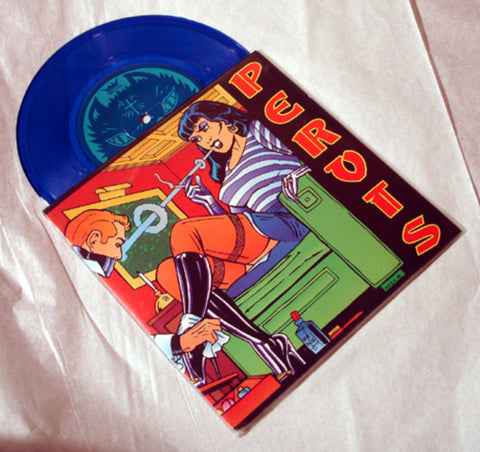 "Pervis ""Simple"" 1995 Colored Vinyl Art By Kozik"