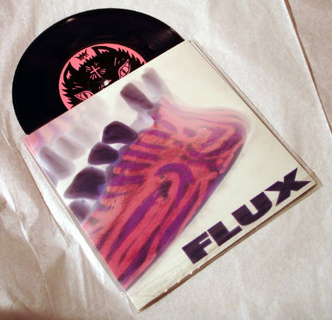"Flux ""Plains At Ground Zero"" 1996 Colored Vinyl Art By Kozik"