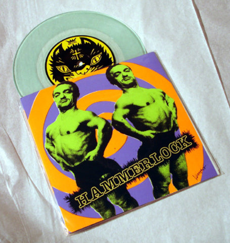 "Hammerlock ""Knock Her Out"" 1997 Colored Vinyl Art By Kozik"