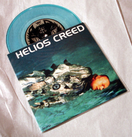 "Helios Creed ""Abducted/Leaving"" 1996 Colored Vinyl Art By Kozik"