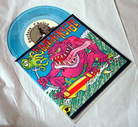 "The Outsideinside ""9:33"" Colored Vinyl Art By Kozik"