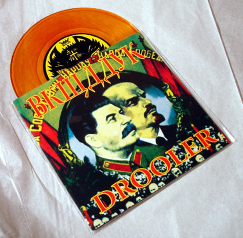 "Drooler ""King Of The Coal Mine"" 1997 Colored Vinyl By Kozik"