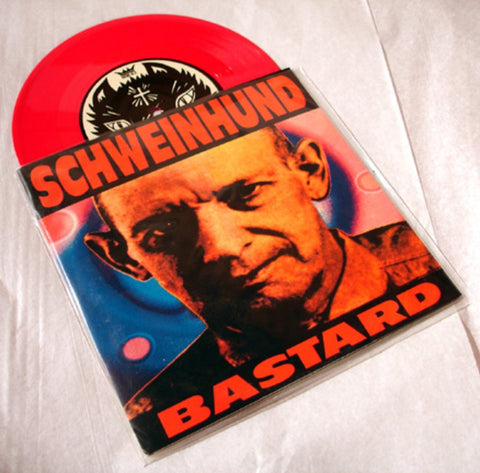 "Schweinhund ""Bastard"" 1997 Colored Vinyl Art By Kozik"