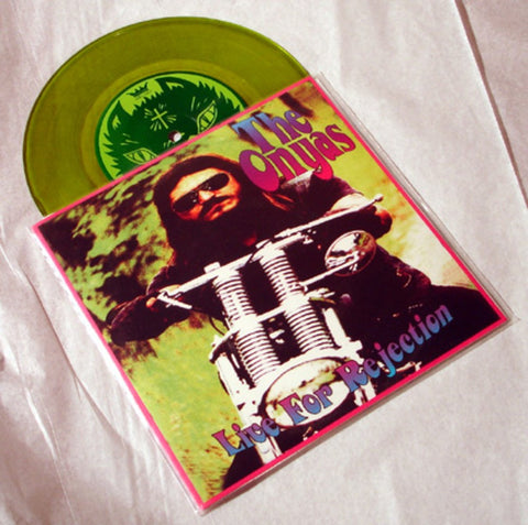 "The Onyas ""Live for Rejection"" 1996 Colored Vinyl Art By Kozik"