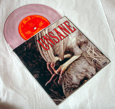 "Unsane ""Sick/No Soul"" 1996 Colored Vinyl Art By Kozik"
