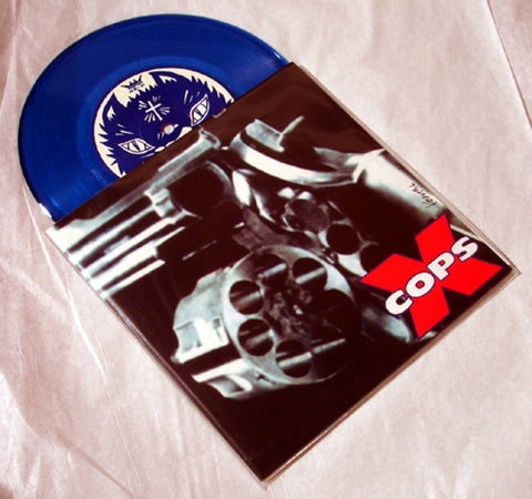 "X-Cops ""Beat You Down"" 1996 Colored Vinyl Art By Kozik"