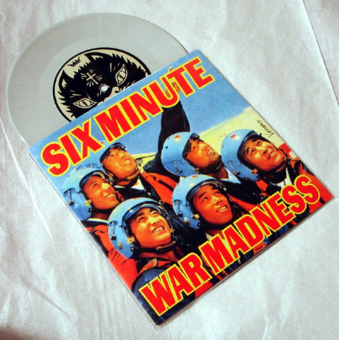 "Six Minute War Madness ""L'Ora Guista""  1997 Colored Vinyl Art By Frank Kozik"
