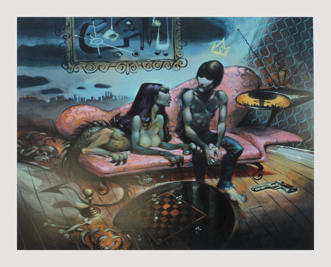 Glenn Barr - 2001 - Riddle of the Sphinx Art Print