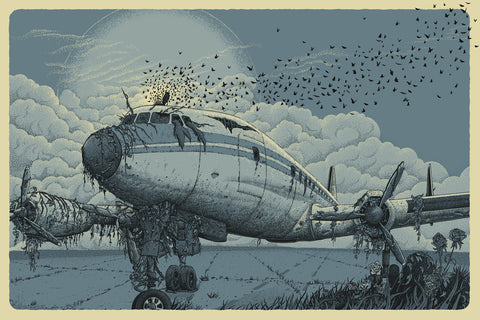 Neal Williams - 2014 Grounded Art Print