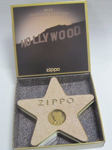 Zippo Lighter - Collectible of the Year - 2001 Hollywood