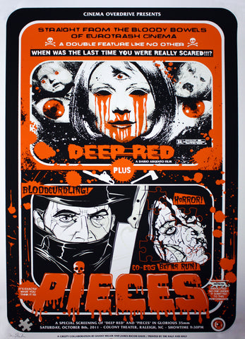 James Rheem Davis & Danny Miller - 2011 - Deep Red & Pieces - Halloween Orange