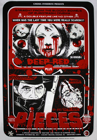 James Rheem Davis & Danny Miller - 2011 - Deep Red & Pieces - Blood Red