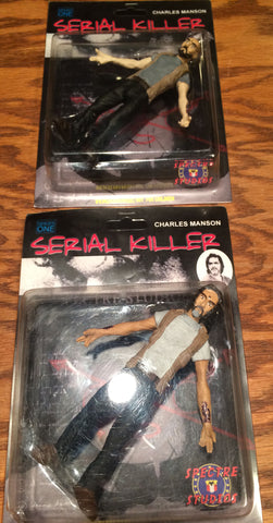 Spectre Studios - Serial Killer Series 1 - Charles Manson Set of 2 Figures