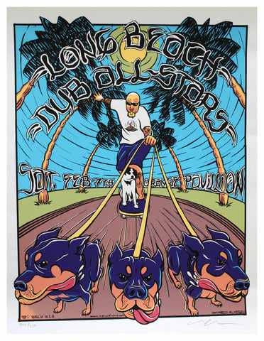 Marco Almera - 1998 - Long Beach Dub All-Stars Poster
