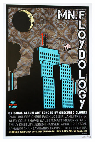 MC - 2010 - MN.Floydology Blue Show Poster