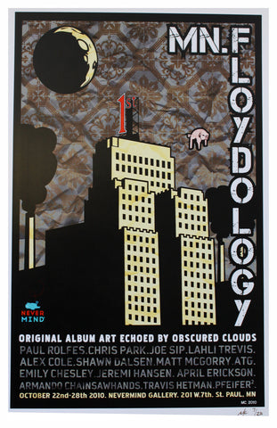 MC - 2010 - MN.Floydology Yellow Show Poster