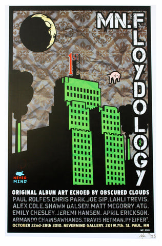 MC - 2010 - MN.Floydology Green Show Poster