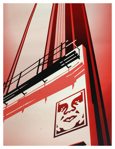 Shepard Fairey - 2011 - Sunset and Vine Billboard Art Print