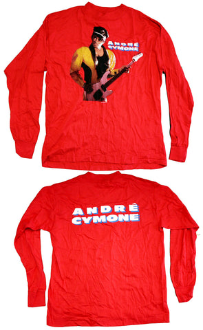 Andre Cymone Vintage Long Sleeved Tee
