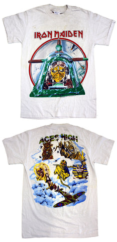 "Iron Maiden ""Aces High"" Vintage Tee"