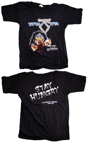 "Twisted Sister ""Stay Hungry World Tour"" Vintage Tee"