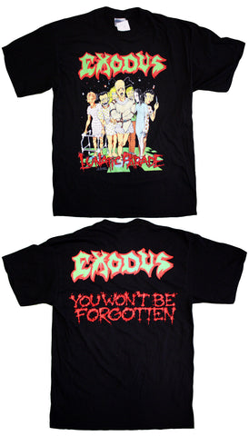 "Exodus ""Lunatic Parade - You Won't Be Forgotten"" Vintage Tee"