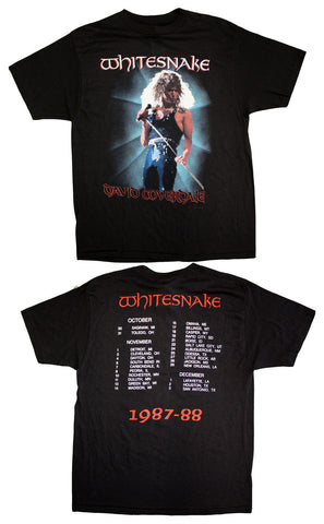 "White Snake ""David Coverdale 1987-88"" Vintage Concert Tour Tee"