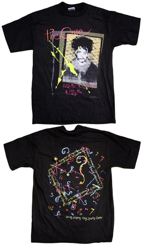 "The Cure ""Kissing Tour 1987 - Kiss Me, Kiss Me, Kiss Me"" Vintage Tee"