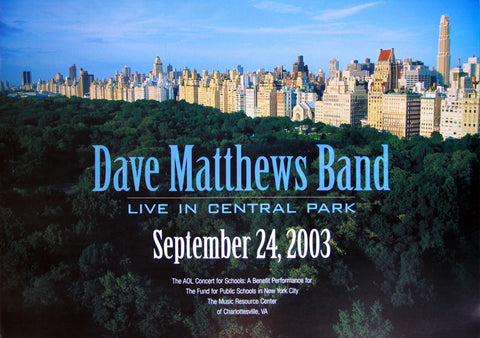 Dave Matthews Band - 2003 - Live In Central Park