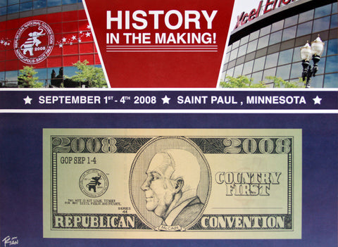 History In The Making - Republican Convention 2008
