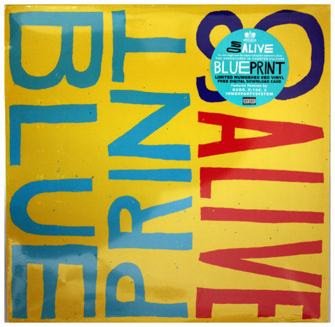 "Blueprint ""So Alive"" 12 Inch Vinyl"