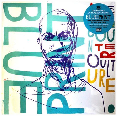 "Blueprint ""Adventures In Counter-Culture"" 12 Inch Vinyl"