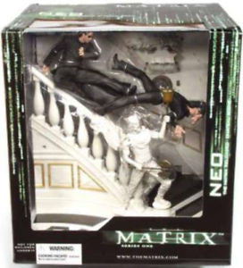 McFarlane - The Matrix Reloaded - Neo in Cheteau
