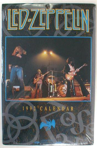 Rock Express - 1992 - Led Zeppelin -  Photo Calendar