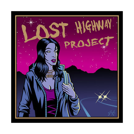 Justin Hampton - 2005 - Lost Highway Project Print