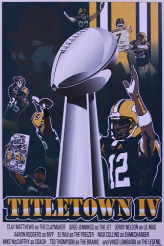 MC - 2011 - Titletown IV Art Print